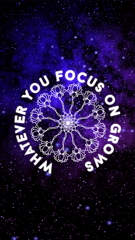 whatever-you-focus-on-grows